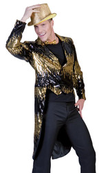Glitter Tailcoat Gold Medium