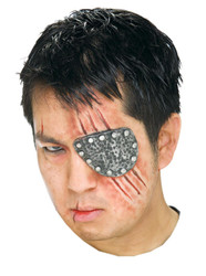 Eye Patch Metal Prosthetic