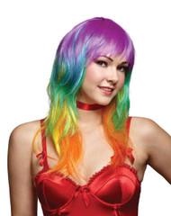 Rainbow Multicolor Wig