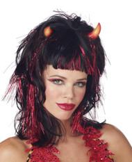 Wig Demonica Devil Blk Red