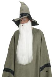 Beard W Mustache White
