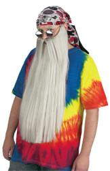 Beard W Mustache Gray