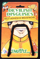Chinese Mustache Black