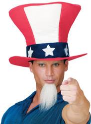 Uncle Sam Hat W Beard