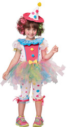 Clown Rainbow Child 4-6