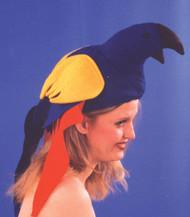Parrot Felt Hat