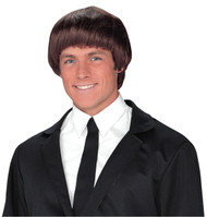 60s Band Member Brown Wig - FW92709