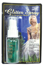 Glitter Spray Green 1 Oz