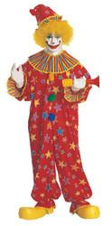 Clown Costume Jumpsuit Adult