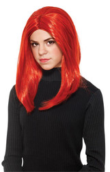 Black Widow Adult Wig