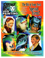 Hair Painting Brochures