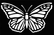 Stencil Butterfly Brass