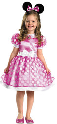 Pink Minnie Mouse Class 3t-4t