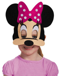 Minnie Mouse Pink Felt Mask
