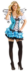 Turquoise Fairy Adult Md/lg