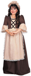 Colonial Girl Child Large