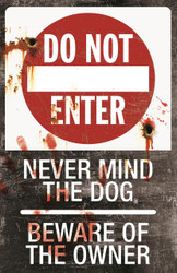 Metal Sign-do Not Enter
