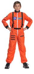 Astronaut Orange Child 10-12