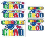 Congrats Grad Auto-clings