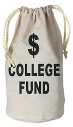 College Fund Money Bag