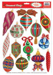 Christmas Ornament Clings