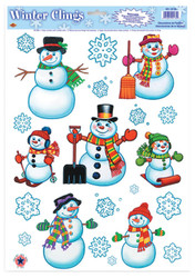 Snowman/snowflake Clings