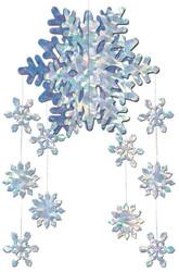 Snowflake Mobile 3d