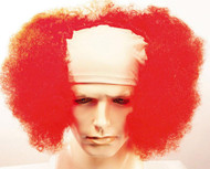 Bald Curly Clown Red