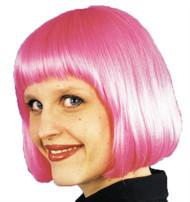 Cindy Wig Hot Pink