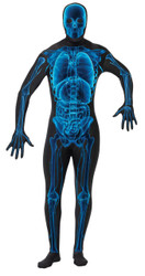 X Ray Skin Suit Adult Medium