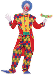 Clown Tuxedo Adult Std