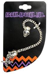 Earring Wrap Skull