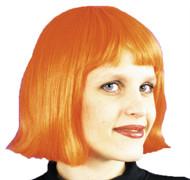Cindy Wig Neon Orange