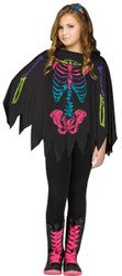 Poncho Skeleton Color Ch Up To