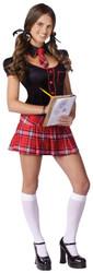 Sassy Scholar Junior Red Teen