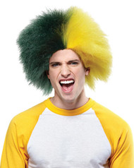 Sports Fun Wig Green Gold