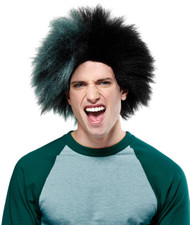 Sports Fun Wig Green Black