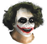 Joker Latex Mask W Hair
