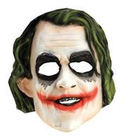 Joker 3/4 Vinyl Mask Child
