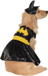 Pet Costume Batgirl Large