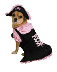 Pet Costume Pink Pirate Sm