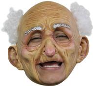 Oldman Dlx Chinless Latex Mask