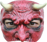 Devil Latex Half Mask