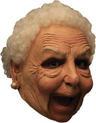 Nanny Dlx Chinless Latex Mask
