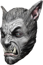 Beast Silver Wolf Latex Mask