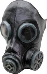 Smoke Black Latex Mask