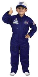 Flight Suit W Cap Chld Lg 8-10