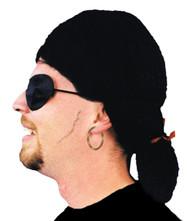 Wig Pirate Black
