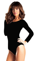 Leotard Long Sleev Black Sm Md