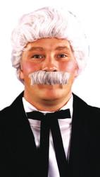 Mark Twain Wig Moustache